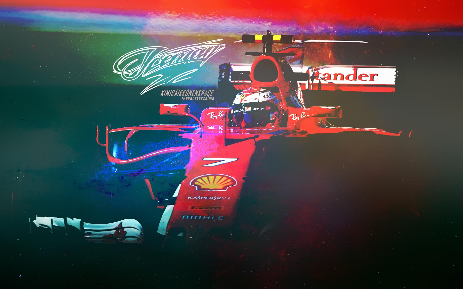 Wallpapers Kimi Räikkönen Space