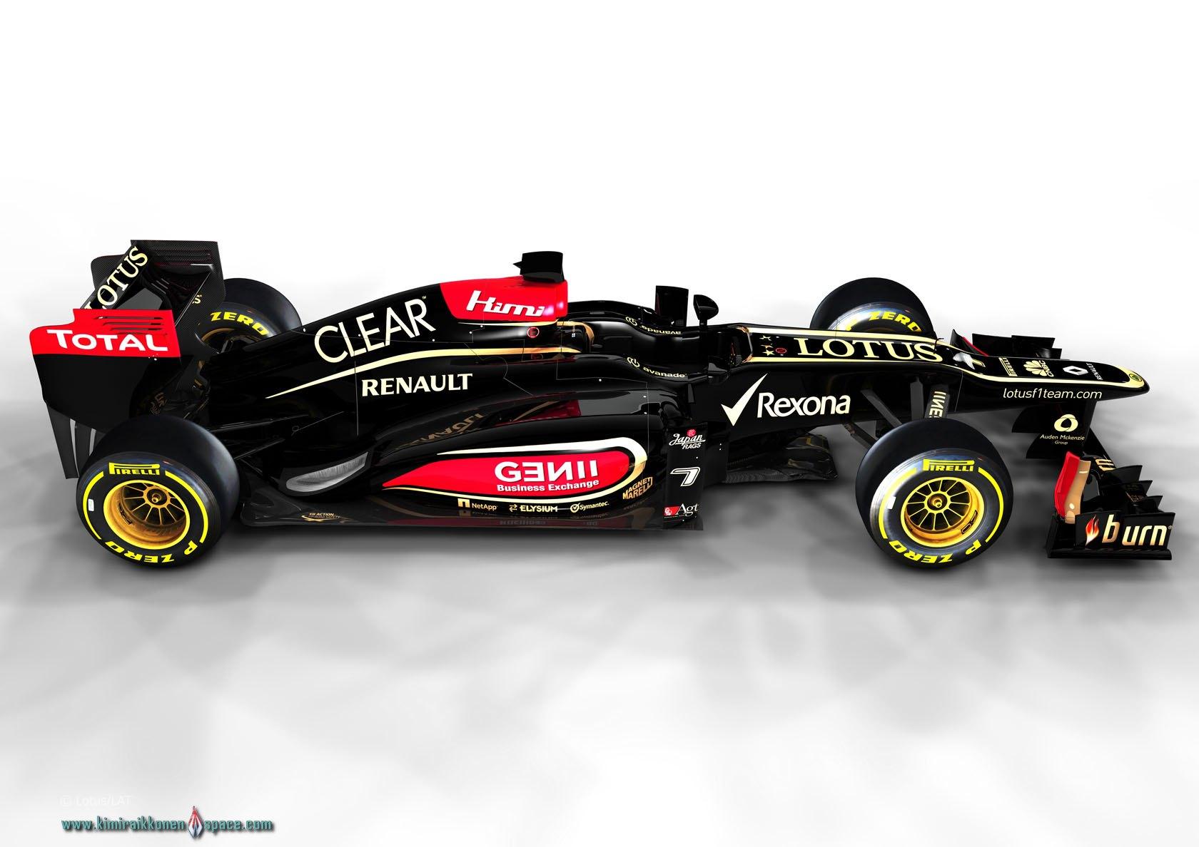 Lotus F1 Team 2013 Launch Photoshoot Krs