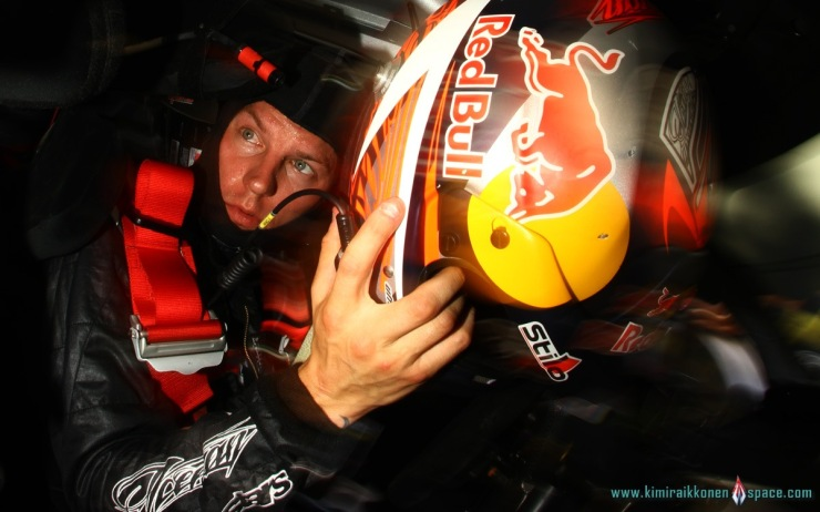 Kimi in rally