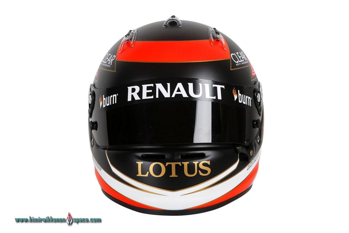 Raikkonen's new 2013 helmet | KRS