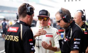 Rennie with Raikkonen and Slade