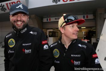 Lopez and Raikkonen