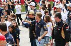 With Vettel