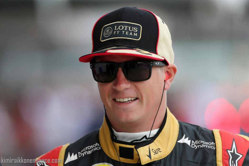"2ba176eab0 Kimi  ""Life at Lotus is good"" – KIMI RÄIKKÖNEN SPACE"