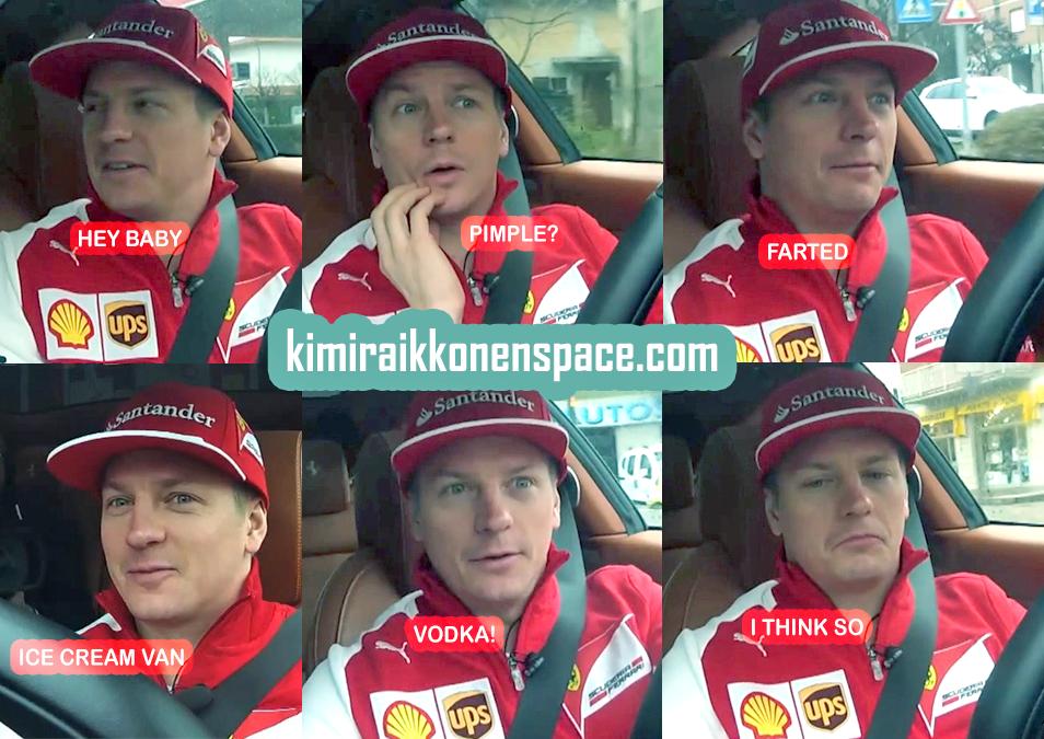Video Interview: Kimi's first 3 days at Ferrari | KRS