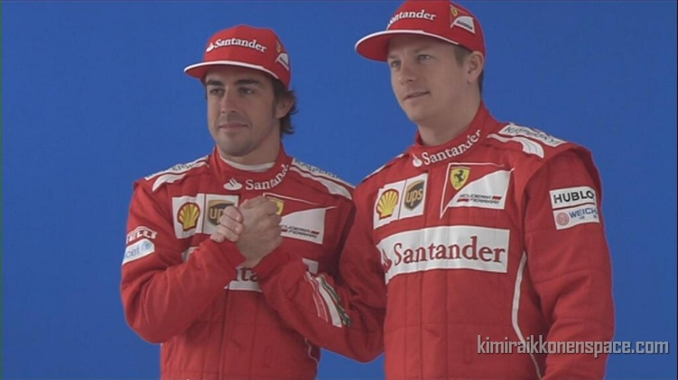 Alonso & Grosjean on Kimi's return to Ferrari