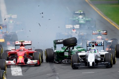 Felipe Massa Kamui Kobayashi
