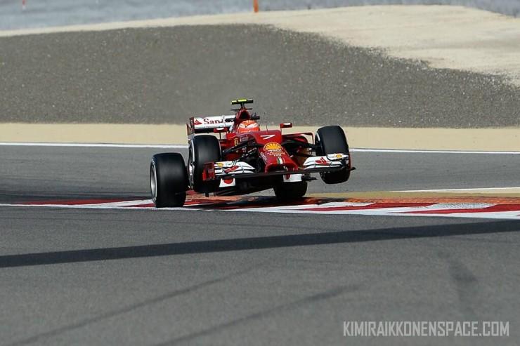 Kimi lacks front grip