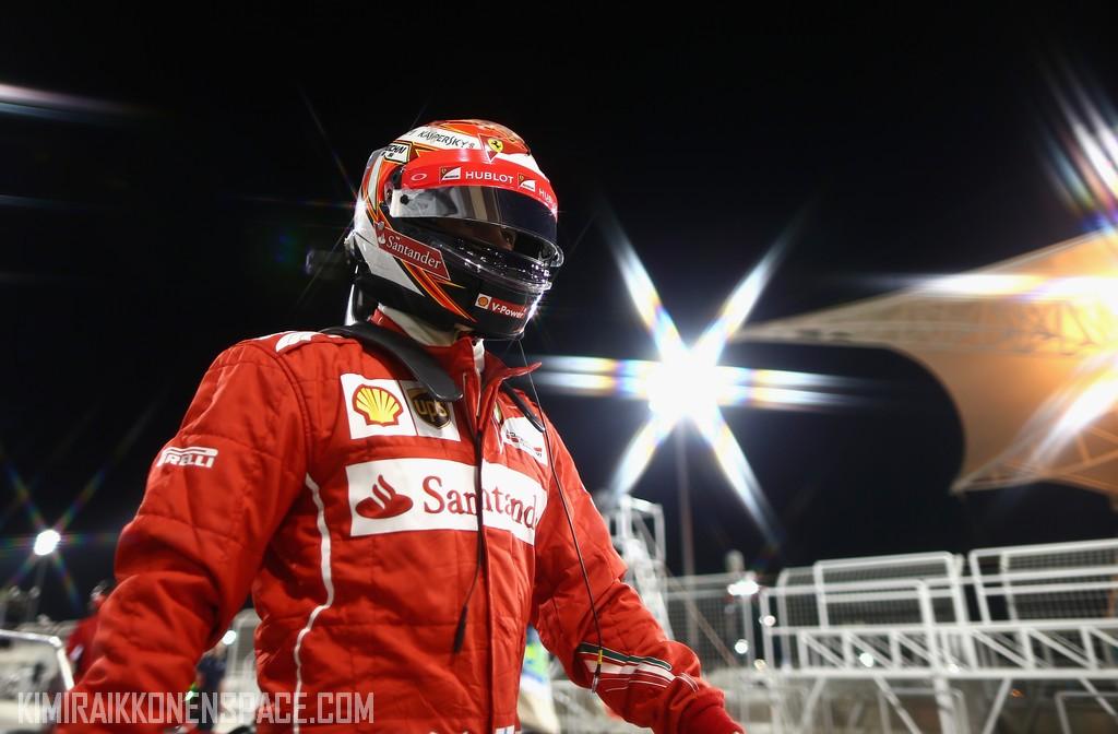 Foto Kimi Raikkonen (Ferrari) @ kimiraikkonenspace.com