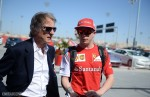 Montezemolo with Raikkonen