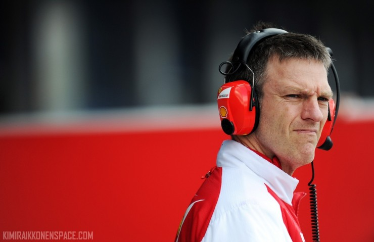 James Allison (GBR) Ferrari Chassis Technical Director.