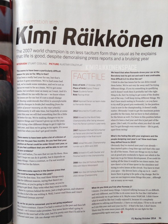 kimi interview f1racing oct 2014_KRS
