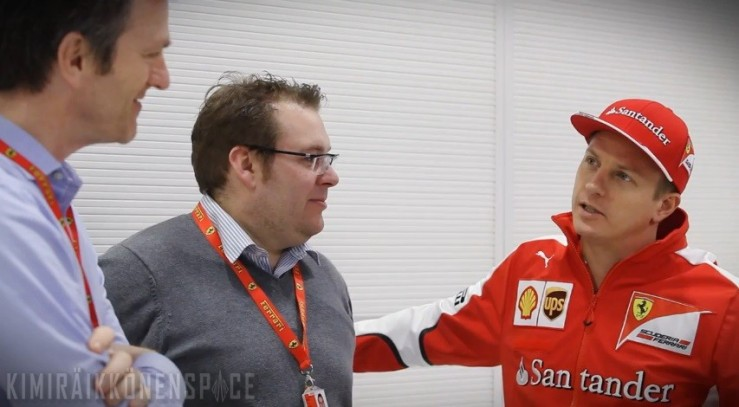 Kimi with Dave Greenwood