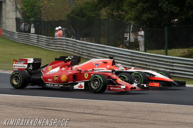 #7 and #17, Kimi and Jules, Hungarian GP 2014