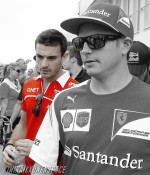 Jules and Kimi, Hungarian GP 2014