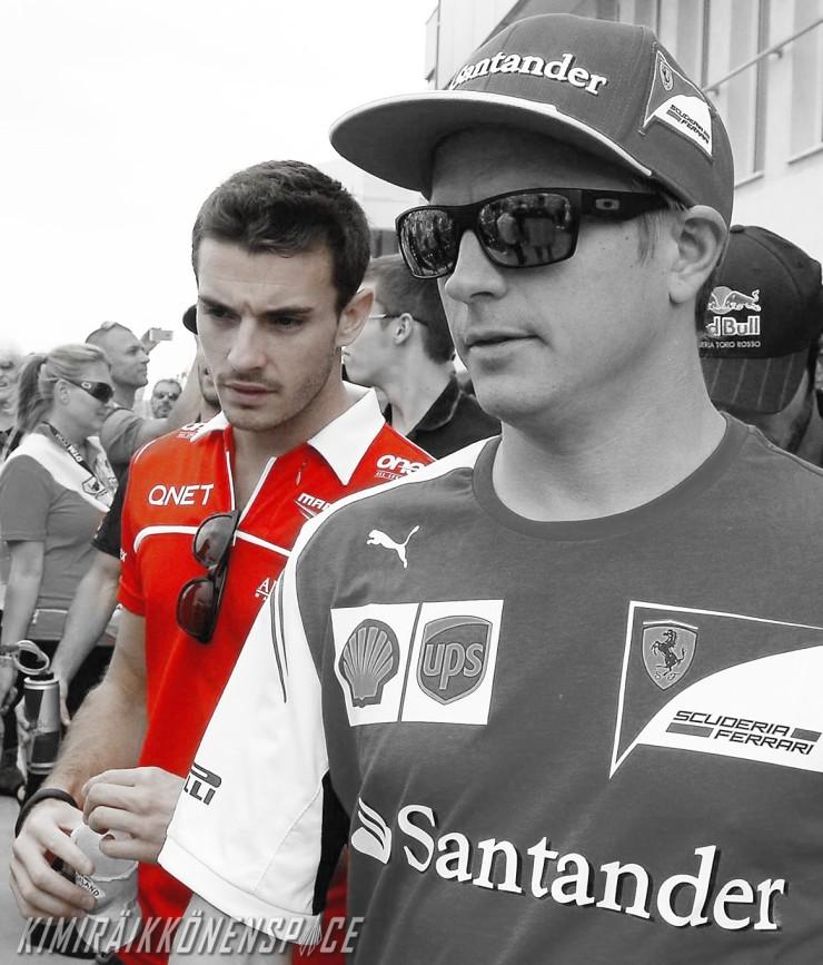 Jules and Kimi, Hungarian GP 2014