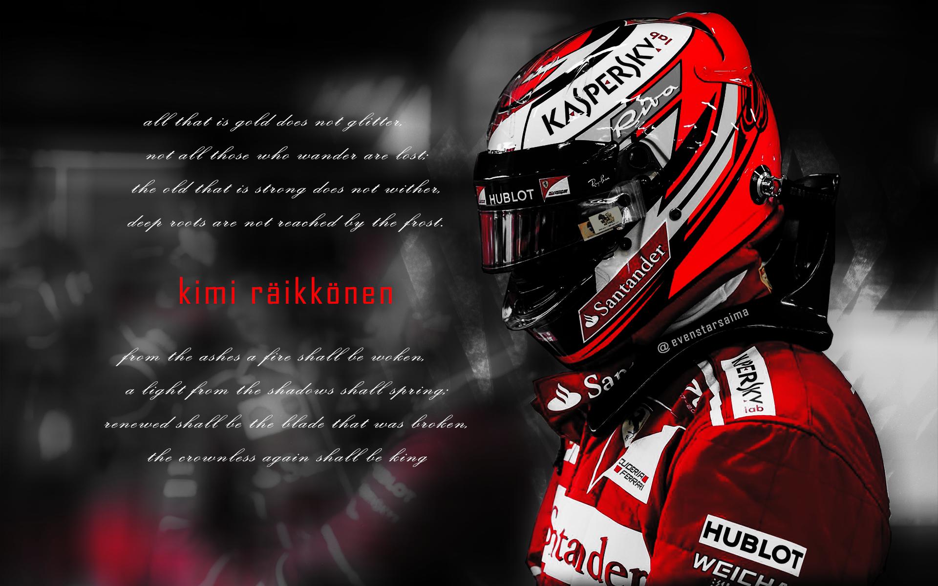 2017 Banners And Desktop Kimi Räikkönen Space