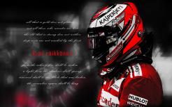 Kimi close up garage-mono-red