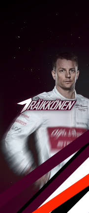 iPhone X Kimi Raikkonen 7 KRS wallpaper 10