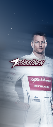 iPhone X Kimi Raikkonen 7 KRS wallpaper 11