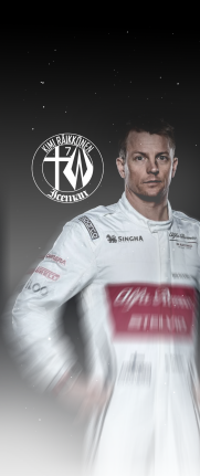 iPhone X Kimi Raikkonen 7 KRS wallpaper 12