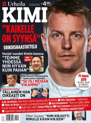 Kimi career journal special fan edition